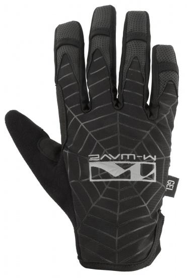 M-Wave Fietshandschoenen Spiderweb Zwart Maat 9