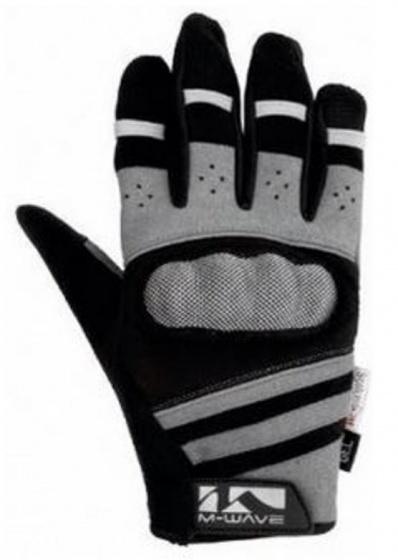 M-Wave Gel Fietshandschoenen Protect Zwart/Grijs Maat 11