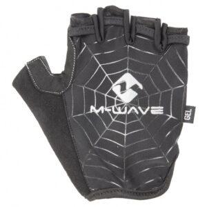M-Wave fietshandschoenen Spiderweb-Gel zwart maat M