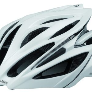Mighty Fietshelm Peak White Carbon Maat L