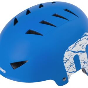 Mighty Helm X-Style junior blauw maat L (60-63 cm)