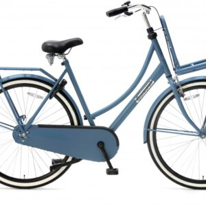 Popal Daily Dutch Basic 28 Inch 57 cm Dames Terugtraprem Blauw