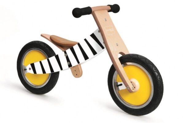 Scratch Move-It loopfiets Junior Blank/Zwart