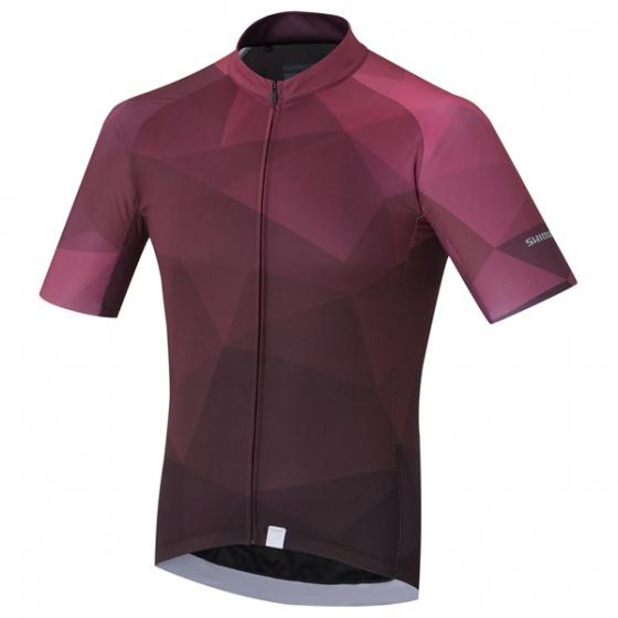 Shimano fietsshirt Breakaway heren paars maat L