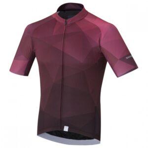 Shimano fietsshirt Breakaway heren paars maat XXL