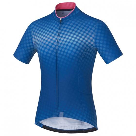 Shimano fietsshirt Sumire dames blauw maat XL