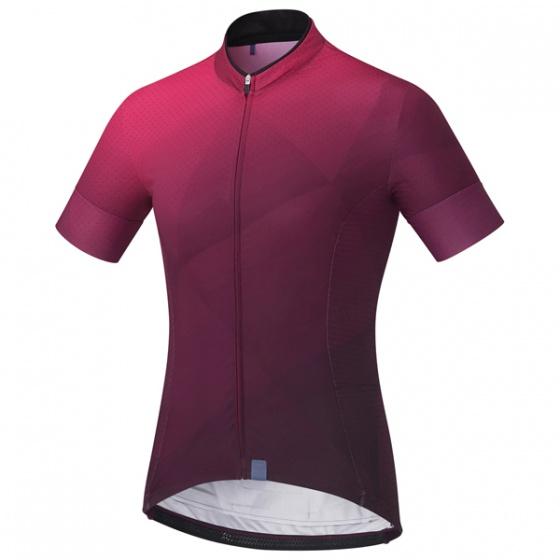 Shimano fietsshirt Sumire dames paars maat L