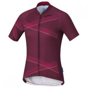 Shimano fietsshirt Team Performance dames bordeaux Maat XL