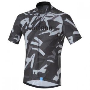 Shimano fietsshirt Team Performance heren grijs Maat S