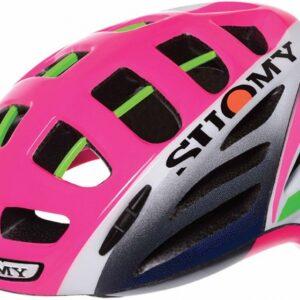 Suomy fietshelm Gun Wind Special dames roze maat 59-62 cm