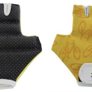 Tour De France fietshandschoenen geel maat 5