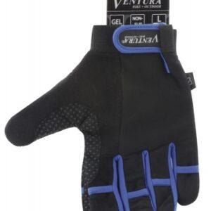 Ventura Fietshandschoenen Gel Blauw Maat L