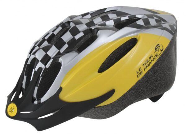 Ventura Fietshelm Tour De France Geblokt Maat 58-61 cm (L)