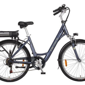 Clermont Clermont 26 Inch 46 cm Dames 6V V-Brakes Grijs/Blauw