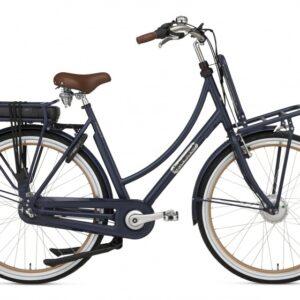 Popal Prestige-E 28 Inch 57 cm Dames 3V Rollerbrake Matzwart