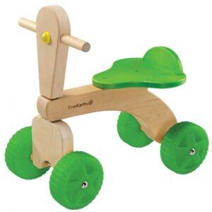 Everearth 4 wielen Junior Blank/Groen