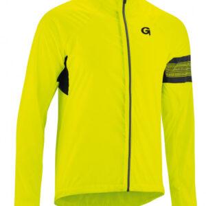 Gonso fietsjack Karwendel heren polyester geel