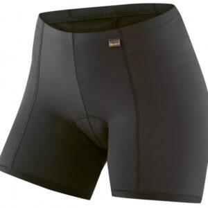 Gonso fietsonderbroek Sitivo U dames polyamide zwart/blauw mt 34