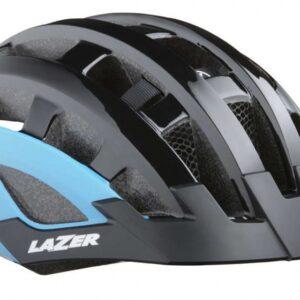 Lazer fietshelm Compact DLX Mips led zwart/blauw