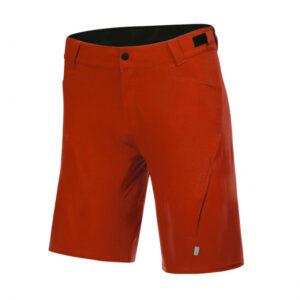 Protective fietsbroek P-Valley heren polyester rood