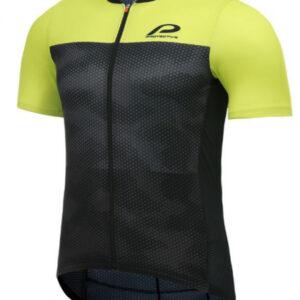 Protective fietsshirt P-Transform heren polyester zwart/grijs
