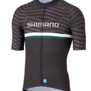 Shimano fietssshirt Team heren polyester zwart maat 3XL